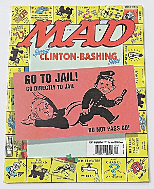 Mad Magazine September 1977 #361 Clinton Bashing