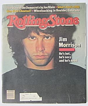 Rolling Stone September 17, 1981 Jim Morrison (Image1)