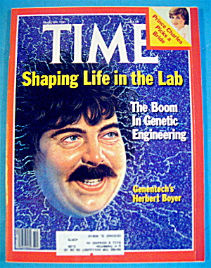 Time Magazine-march 9, 1981-genentech's Herbert Boyer