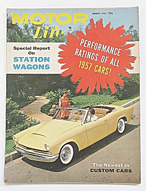 Motor Life Magazine March 1957 Station Wagons