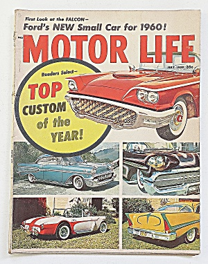Motor Life Magazine July 1959 Ford New Small Car