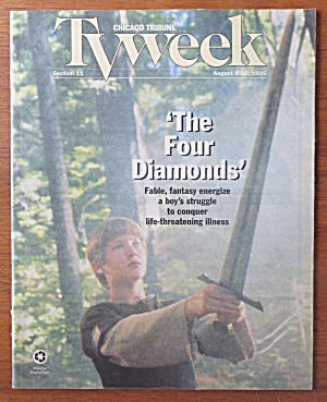 Tv Week August 6-12, 1995 The Four Diamonds