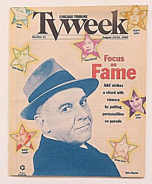 Tv Week August 13-19, 1995 Focus On Fame