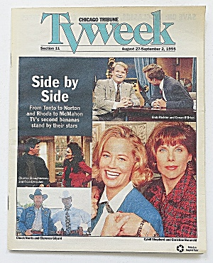 Tv Week August 27-september 2, 1995 Side By Side