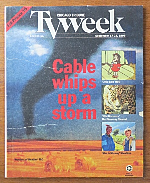 Tv Week September 17-23, 1995 Cable Whips Up A Storm