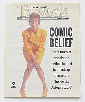 Tv Week June 16-22, 1996 Carol Burnett