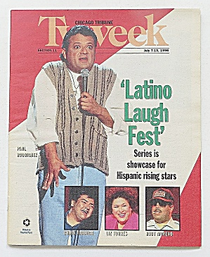 Tv Week July 7-13, 1996 Latino Laugh Fest