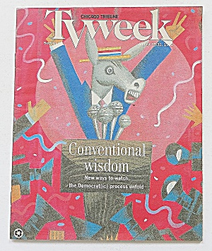 Tv Week August 25-31, 1996 Conventional Wisdom