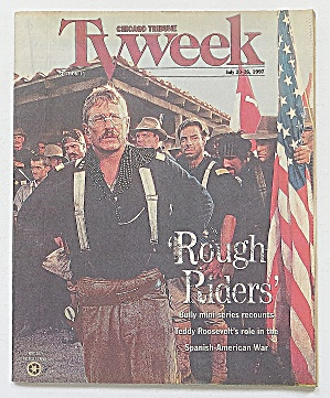 Tv Week July 20-26, 1997 Rough Riders