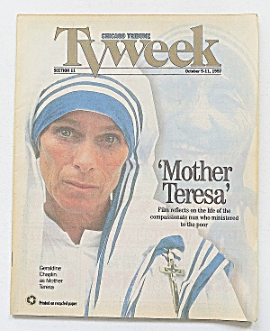 Tv Week October 5-11, 1997 Mother Teresa