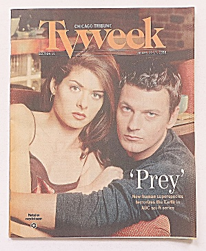 Tv Week Janaury 11-17, 1998 Prey