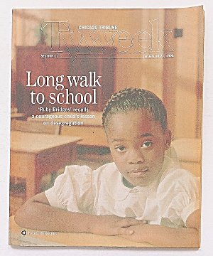Tv Week January 18-24, 1998 Long Walk To School
