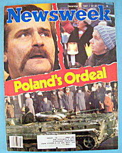Newsweek Magazine - December 28, 1981 - Poland's Ordeal (Image1)