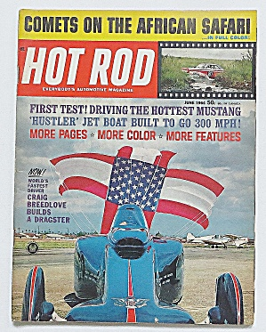 Hot Rod Magazine Sept 1964 Comets On African Safari