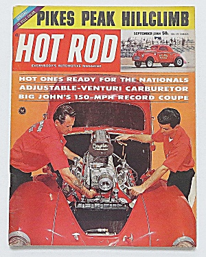 Hot Rod Magazine Sept 1964 Pikes Peak Hill Climb