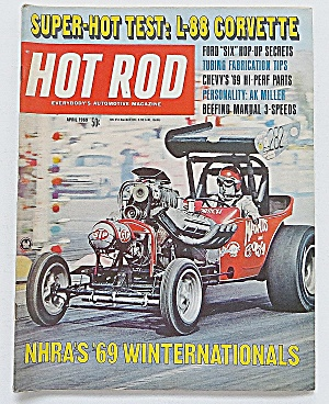 Hot Rod Magazine April 1969 L-88 Corvette (Image1)