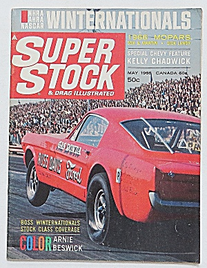 Super Stock & Drag Magazine May 1966 Winter Nationals