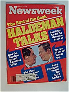 Newsweek Magazine - February  27,  1978 (Image1)