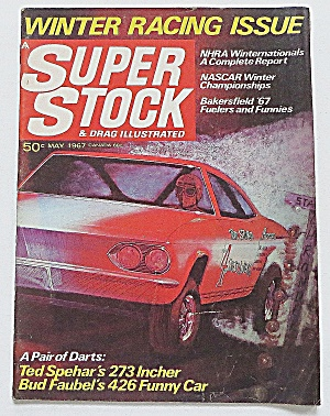 Super Stock & Drag Magazine May 1967 Winter Racing