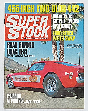 Super Stock & Drag March 1968 455-inch Fwd Olds 442
