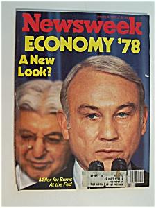 Newsweek Magazine - January  9,  1978 (Image1)