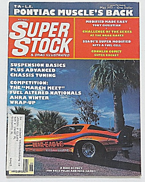 Super Stock & Drag May 1977 Pontiac Muscle's Back