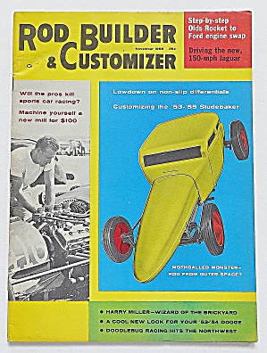 Rod Builder & Customizer November 1958 Mothball Monster