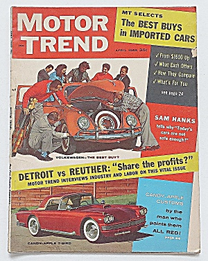Motor Trend Magazine April 1958 Detroit VS. Reuther (Image1)