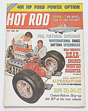 Hot Rod Magazine May 1961 401 Hp Ford Power Option