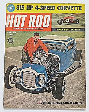 Hot Rod Magazine July 1961 315 Hp 4-speed Corvette