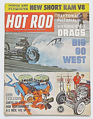 Hot Rod Magazine May 1962 New Short Ram V8