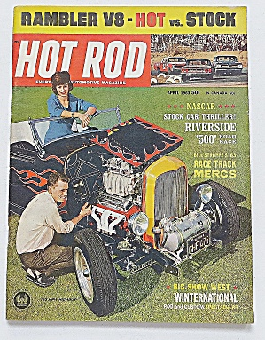 Hot Rod Magazine April 1963 Rambler V8