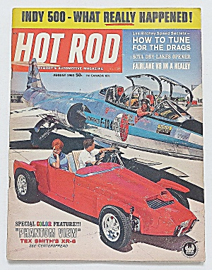 Hot Rod Magazine August 1963 Indy 500