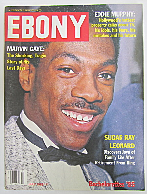Ebony Magazine July 1985 Eddie Murphy/marvin Gaye