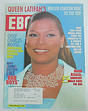 Ebony Magazine April 2003 Queen Latifah