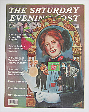Saturday Evening Post December 1981 Salvation Army (Image1)
