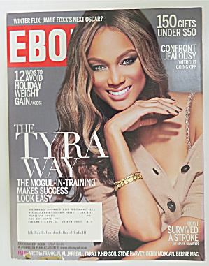Ebony Magazine December 2009 Tyra Banks