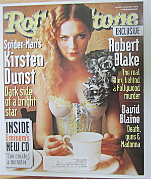 Rolling Stone Magazine May 23, 2002 Kirsten Dunst