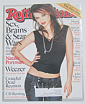 Rolling Stone Magazine June 20, 2002 Natalie Portman (Image1)