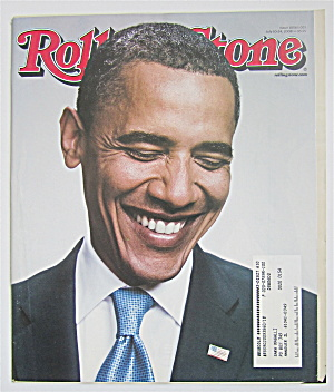 Rolling Stone Magazine July 10-24, 2008 Pres. Obama  (Image1)