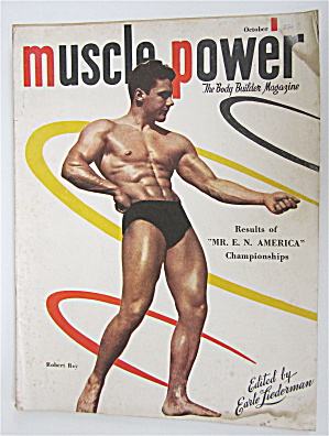 Muscle Power Magazine October 1948 Robert Roy