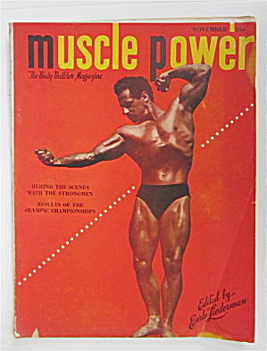 Muscle Power Magazine November 1948 Ed Theriault