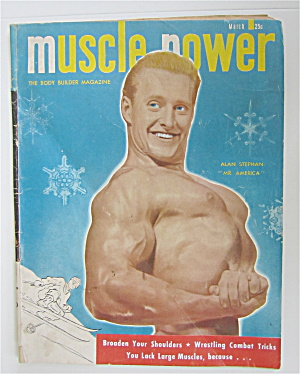 Muscle Power Magazine March 1949 Alan Stephan