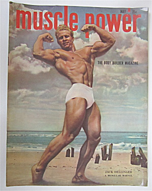 Muscle Power Magazine May 1949 Jack Dellinger