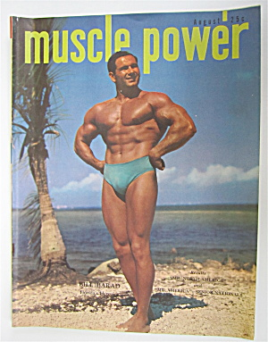 Muscle Power Magazine August 1949 Bill Barad