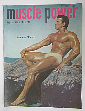 Muscle Power Magazine September 1949 Armand Tanny