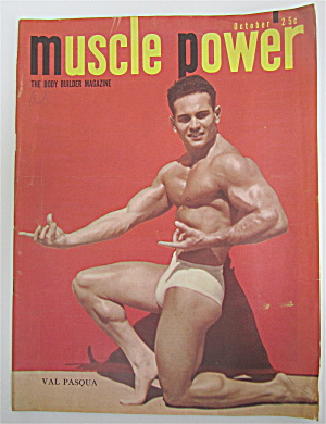 Muscle Power Magazine October 1949 Val Pasqua