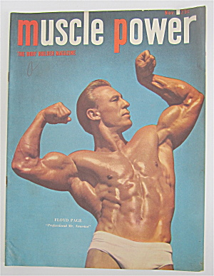 Muscle Power Magazine November 1949 Floyd Page