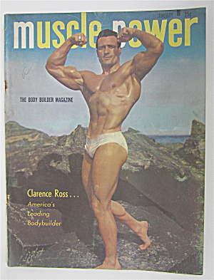 Muscle Power Magazine January 1950 Clarence Ross