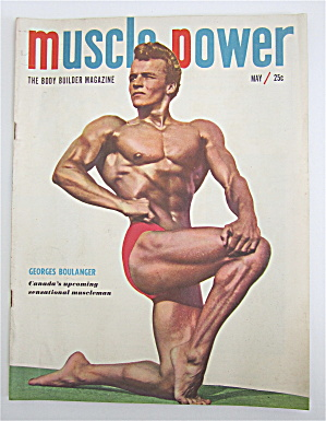 Muscle Power Magazine May 1950 Georges Boulanger